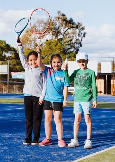 School Holidays Tennis Clinic Newcastle